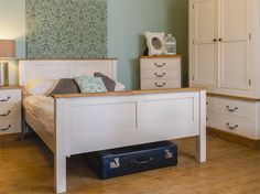H&F Plank Vintage Bed - Vintage Furniture Range Bespoke Furniture, Vintage Furniture, Mustard And Grey Bedroom, Stiffkey Blue, Bed Price, Set Of Drawers, Vintage Wardrobe, Under Bed Storage, Bedroom Vintage