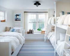 To decorate a beachfront home in Amagansett, interior designer Brad Ford simply looked to the ocean for inspiration. To decorate a beachfront home in Amagansett, interior designer Brad Ford simply looked to the ocean for inspiration. Home Interior, Interior Design, Interior Ideas, Interior Paint, Modern Interior, Interior Colors, Interior Rugs, Scandinavian Interior, Modern Lake House