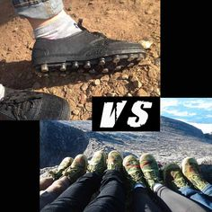 รองเท้าจีนแดง VS สตั๊ดดอย (ยางหล่อ)