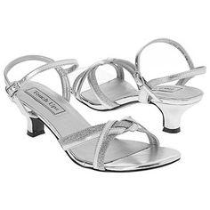 Touch Ups by Benjamin Walk Melanie Shoes (Silver Metallic) - Women's Wedding Shoes - 7.0 M