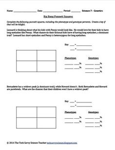 worksheets on monohybrid cross google search classroom activities pinterest worksheets. Black Bedroom Furniture Sets. Home Design Ideas