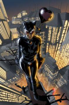Catwoman by Rafa Sandoval & Antonio Assunção Batgirl, Catwoman Comic, Catwoman Cosplay, Batman And Catwoman, Bob Kane, Heros Comics, Dc Comics Art, Comics Girls, Hq Marvel