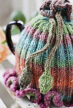 """""""A little sweater for your teapot.""""  Churchmouse Yarns & Teas         So cute!"""