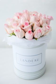 flowers, rose, and pink image Beautiful Flower Arrangements, Floral Arrangements, Flower Boxes, My Flower, Beautiful Roses, Beautiful Flowers, Pink Roses, Pink Flowers, Luxury Flowers