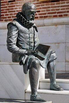 Miguel de Cervantes Saavedra, Alcalá de Henares (Madrid), Spain 1547 - Madrid 1616.