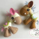 Little Things to Share - Horsy Felt Pattern