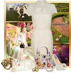 """""""Dior In Wonderland"""" by drenise ❤ liked on Polyvore"""