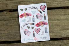 Planner Stickers GirlBoss Hand Painted by BellaRosePaperCo on Etsy