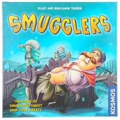 Smugglers Game of Smuggling Sweet N Sour Treats