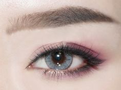Beautiful Pupils Cosmetic Colored Contact Lenses EDGE (Gray)