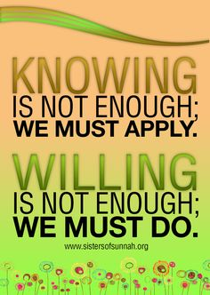 Knowing and Willing