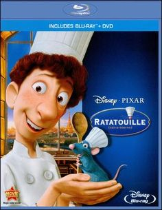 Ratatouille Blu-ray Disc 786936810912 Front