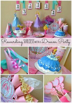 Disney princess positive reinforcement party or birthday party #dreamparty #shop #cbias
