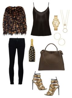 """Untitle #9"" by alessandra-fly on Polyvore featuring moda, Dries Van Noten, La Perla, Dsquared2, Fendi, Tom Ford, Kate Spade, Marc Jacobs, Michael Kors e J.Crew"