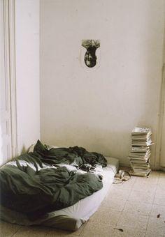 mattress on floor !