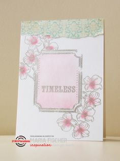 STAMPlorations™ Blog: {Spotlight Project} Maria Enjoys Embossing and Watercolors