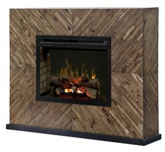 Dimplex - Electric Fireplaces » Mantels » Products » Harris Electric Fireplace