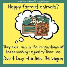 don't buy the lies, be #vegan