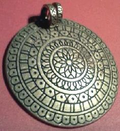 Antique Tribal Pendant Necklace Solid Brass Free SHIP | eBay