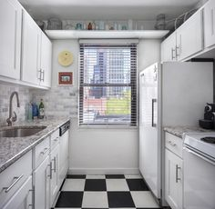 This week's properties are in Crown Heights, Turtle Bay and Astoria. Crown Heights, Galley Kitchens, Turtle Bay, New York City, Kitchen Ideas, Kitchen Cabinets, Times, Home Decor, Kitchen Cupboards