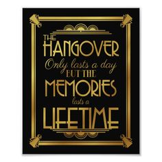 Shop Art deco hangover party sign wedding sign, gold created by TheArtyApples. Art Deco Party, Art Deco Wedding, 40th Birthday Parties, Grad Parties, Speakeasy Party, Drink Signs, Party Signs, New Years Eve Party, Daily Motivation