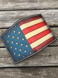Freedom Deluxe. Custom wallet #leathercraft #fashion #mensfashion #handmade #propergentleman