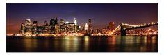 Manhattan Panoramic by Andrew Paranavitara | Artist Lane
