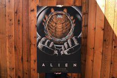 Alien by Randy Ortiz 24″ x 36″ Edition of 275