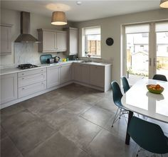 Three Bed Terrace, Millers Glen, Swords, Co Dublin MyHome.ie Residential New Homes For Sale, New Builds, Corner Desk, Terrace, Kitchen Cabinets, Swords, Dublin, Furniture, Kitchen Ideas