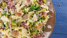The freshest flavors of spring come together in this vegetable-laden pasta dish.