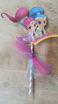 Shimmer and Shine cake topper Shimmer and by SilviasPartyDecor