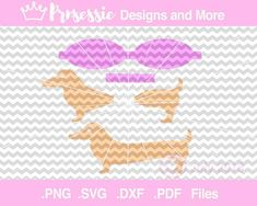 Digital SVG PDF DXF Doggy Hair Bow Template weiner dog svg | Etsy Making Hair Bows, Diy Hair Bows, Hair Ribbons, Glitter Canvas, Glitter Fabric, Silhouette Portrait Projects, Bow Template, Vintage Hair Accessories, Bow Pattern