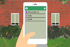 Time.com article: Snapchat Grows Up: How College Officials Are Using the App