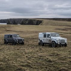 Land Rover Defender 110 Td4 hard-top customized Twisted ICON in adventure background.