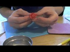 How to Make Wired Gum Paste Roses Using a Blossom Cutter