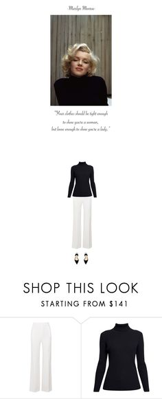 """The 1950s: Marilyn Monroe"" by butterflykisses89 ❤ liked on Polyvore featuring Roland Mouret, Rumour London, Paul Andrew, 1950s, MarilynMonroe, contestentry, 50sfashion and StayChic"
