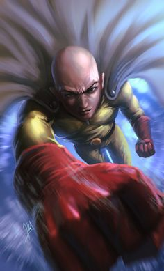 Saitama One Punch Man, Alejandro Giraldo Vargas (Alejdark) Saitama One Punch Man, One Punch Man Anime, Anime One, Saitama Sensei, Anime Artwork, Anime Shows, What Is Life About, Anime Style, Concept Art