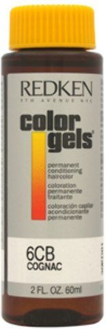 Redken - Color Gels Permanent Conditioning Haircolor 6CB - Cognac (2 oz.) 1 pcs sku- 1898285MA ** Check out this great product.