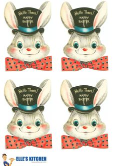 ★ Elle's Kitchen: ※ Easter Printable Gift Tags