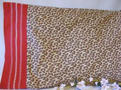 Gingerbread People Pillowcase by LJsCustomCreations on Etsy, $9.00