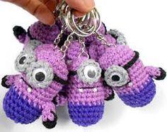 crochet pen minion - Buscar con Google