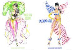 tFS Exclusive: Victoria's Secret Fashion Show Sketches