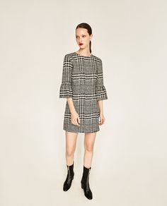 PRINTED MINI DRESS-DRESSES-WOMAN-COLLECTION SS/17 | ZARA United States