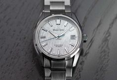 Grand Seiko - Heritage SLGH005 | Time and Watches | The watch blog Sport Watches, Cool Watches, Favre Leuba, Romain Jerome, Apple Watch 1, Watch Blog, Hand Watch, Porsche Design