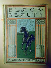 [D] Black Beauty in words of one syllable by J C Gorham(Hardcover 1905) 1st Ed.