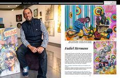 Fadiel Hermans in South African Artist Magazine South African Artists, State Art, Online Art, Art Gallery, Magazine, Art Museum, Magazines, Warehouse, Newspaper