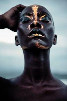 Mademoiselle bio – African beauty – # beauty … – Makeup Looks Too Faced, My Black Is Beautiful, Beautiful Goddess, Beautiful Women, African Beauty, African Tribal Makeup, Face Art, Art Faces, Black Girl Magic