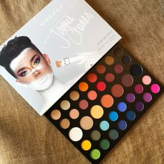 palette Morphe x James Charles - - palette Morphe x James Charles make up james charles Makeup Goals, Makeup Kit, Skin Makeup, Makeup Inspo, Makeup Eyeshadow, Makeup Cosmetics, Makeup Brushes, Beauty Makeup, Eyeliner