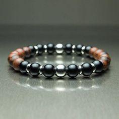 Flocon de neige SPOT stone Yoga Bracelet élastique BRACELET BOUDDHA PERLE fashionaccessories