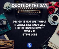 Agree with Steve Jobs. Design should be simple and should also work for a common user.  #technology #techtquotes #webdesign #inspiration #stevejobs #picoftheday #follow